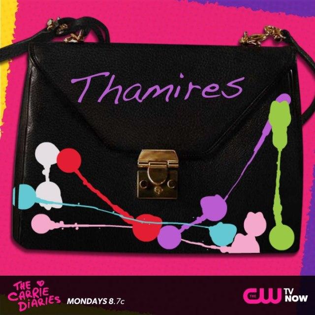 Olhem a minha 'Carrie bag' como ficou. Acho que não teria coragem de usá-la por aí! hahaha
